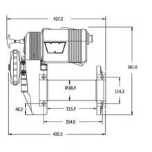Warn winch M8274-50 12V