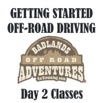 Getting Started Off-road Driving – Day 2 – San Diego Area