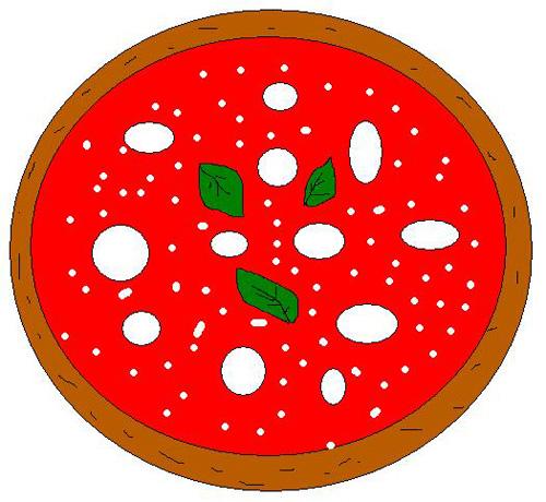 Clipart Pizza Grande  4you Gratis