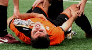 Playing before you've fully recovered from your last injury often ends in tears