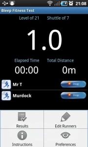 Bleep Fitness Test App