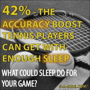 sleep for tennis