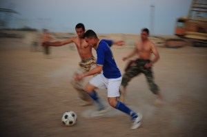 Football can break down barriers if we don't let our anger get in the way