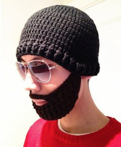 If you buy just one hat in your life, make sure it's got a sewn-in beard.