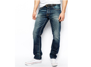 Jeans... the unmistakable sign of a player making up the numbers