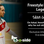 Sean Garnier 5-a-side interview, futsal, skills, neymar,