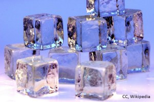 Ice RICE injury treatment cubes