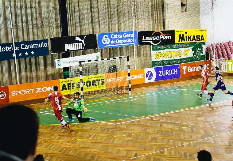 Sporting Futsal Goalkeeper Agile