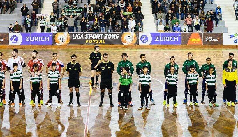 Sporting Lisbon Futsal Lineup