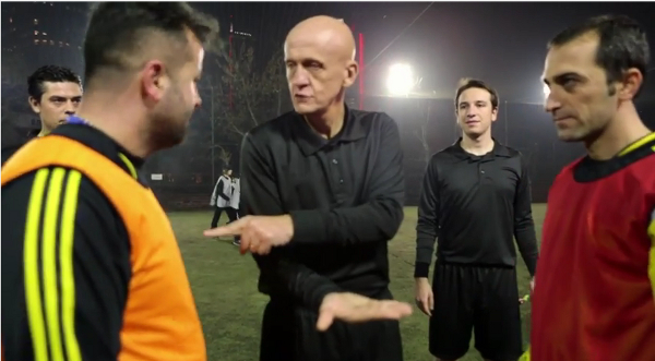 Turkish 5-a-side surprise champions league Pierluigi Collina