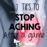 Ways to stop leg aching after a game exercise