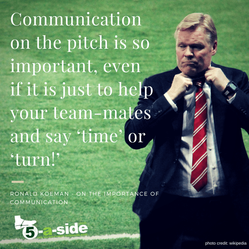 Ronald Koeman Communication Quote
