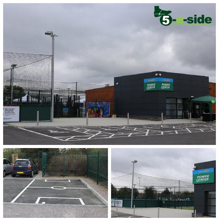 Powerleague Sunbury Centre Pitch View and Car Park