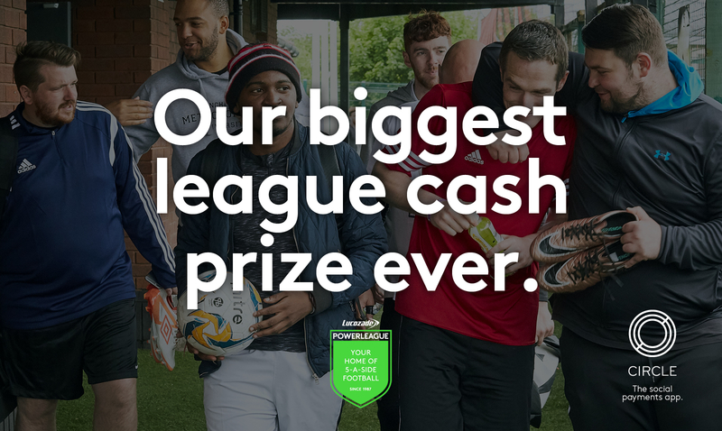 Powerleague win £50k Circle Pay Promotion