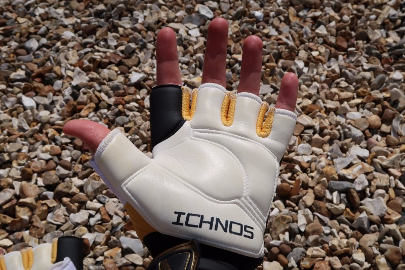 Ichnos Goalkeeper Glove Review Hand in