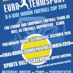 6-a-side tournament Germany December 2018