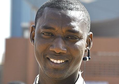 Portrait d'Oumar Kadjivril, un jeune Sénégalais étudiant en droit © Marie Devers