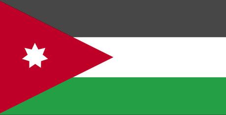 Drapeau jordanien