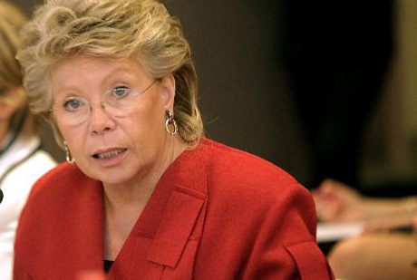 Viviane Reding, commissaire européenne