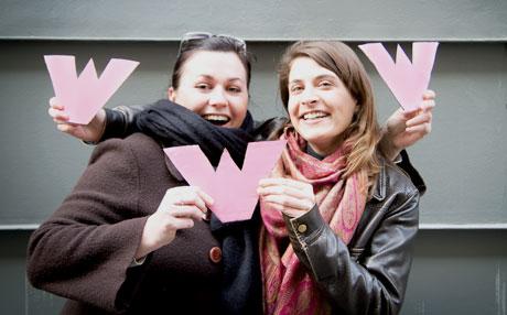 Fanny Le Gallou (à gauche) et Zélie Verdeau © Ben Massiot