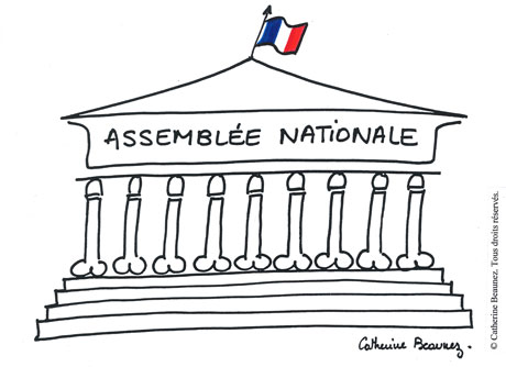 « Assemblée nationale » © Catherine Beaunez