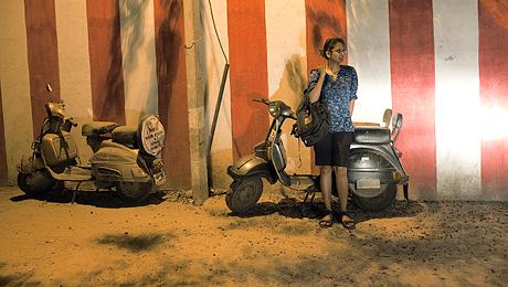 Sharmishta, étudiante en arts à l'université Jawalharial Nehru. New Delhi, Inde. © Olivia Arthur / Magnum Photos.