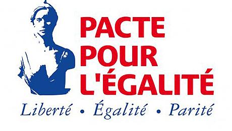 Logo du Pacte de l'égalité