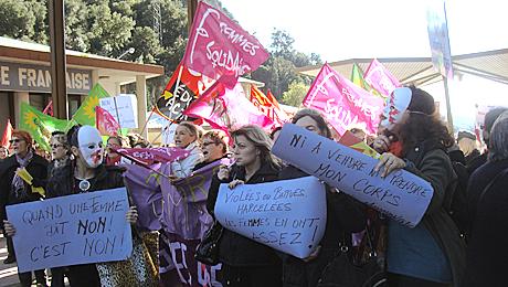 Manifestation au Perthus © Collectif 13ddf