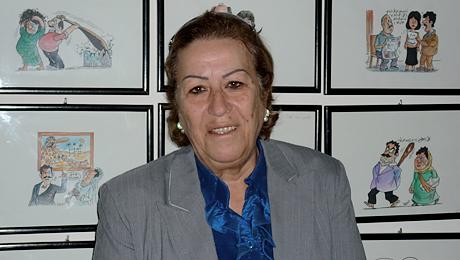 Mahasen El Emam au Centre médiatique pour les femmes journalistes