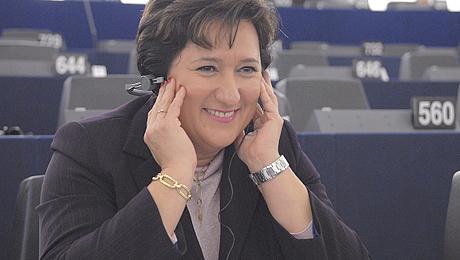 Zita Gurmai au Parlement européen