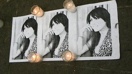 Photos d'Agnès Torres, lors du rassemblement du 12 mars 2012.