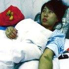 Feng Jianmei à l'hôpital