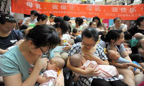 Semaine mondiale de l'allaitement maternel en Chine