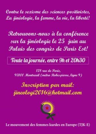 Conférence Jinéologie_affiche
