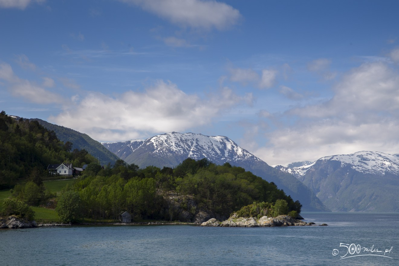 On the way to Sognefjorden