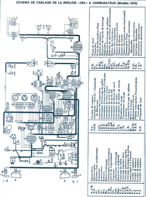 small resolution of wiring diagram peugeot 505 gr wiring librarypeugeot 504 wiring diagram