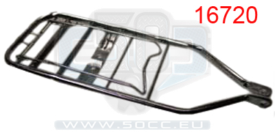 Frame parts for Puch maxi (kick start) scooters, mopeds