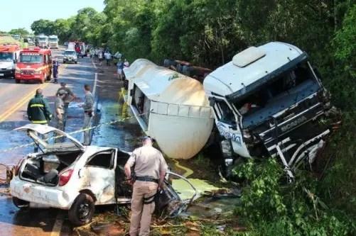 Foram 222 mortos nas estradas federais no feriado prolongado de  Natal