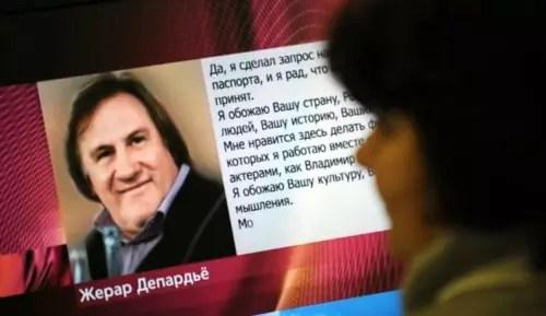 Gerard Depardieu já se tornou cidadão russo para fugir de impostos