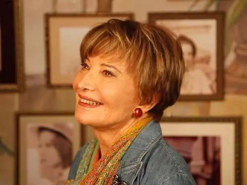 A atriz, de 78 anos, continua mais ativa do que nunca