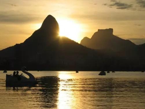Lagoa Rodrigo de Freitas, outro ponto lindo do Rio