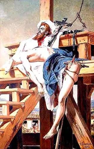 Tiradentes foi enforcado e esquartejado no Rio de Janeiro, em 21 de abril de 1792