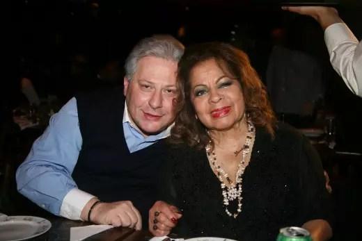 Com o marido, Daniel D'Angelo, com quem vive há mais de 30 anos