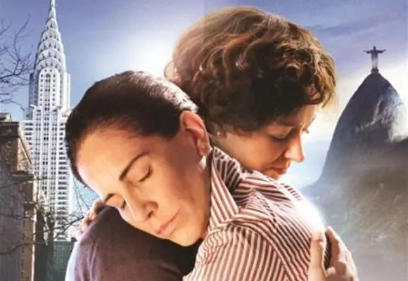 Glória Pires e a australiana Miranda Otto numa cena do filme