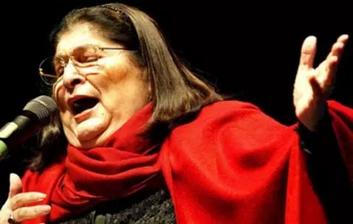 A cantora argentina, morta em 2009, aos 74 anos, era querida em toda a América Latina