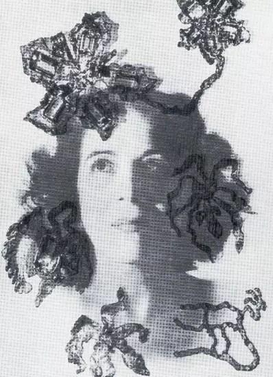 Maria Martins na capa da revista Vogue, em 1944