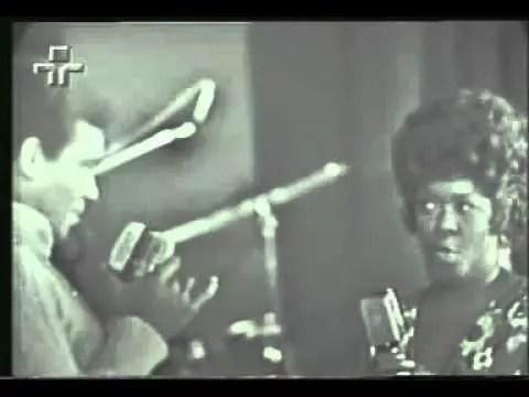 A apresentação dos dois astros foi na TV Tupi, em setembro de 1970