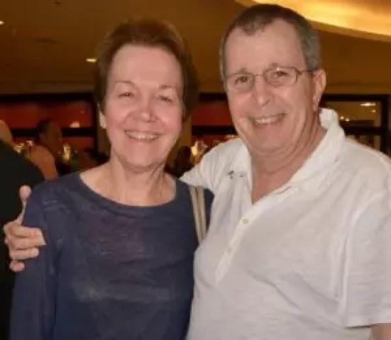 Alice Maria ao lado de Daniel Filho