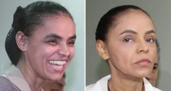 Marina Silva,56, trabalhou a sobranceira e aderiu à maquiagem