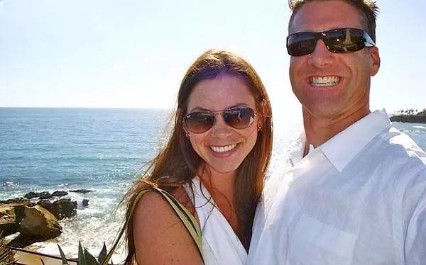 A psicóloga Brittany Maynard, 29, com o marido Dan Diaz